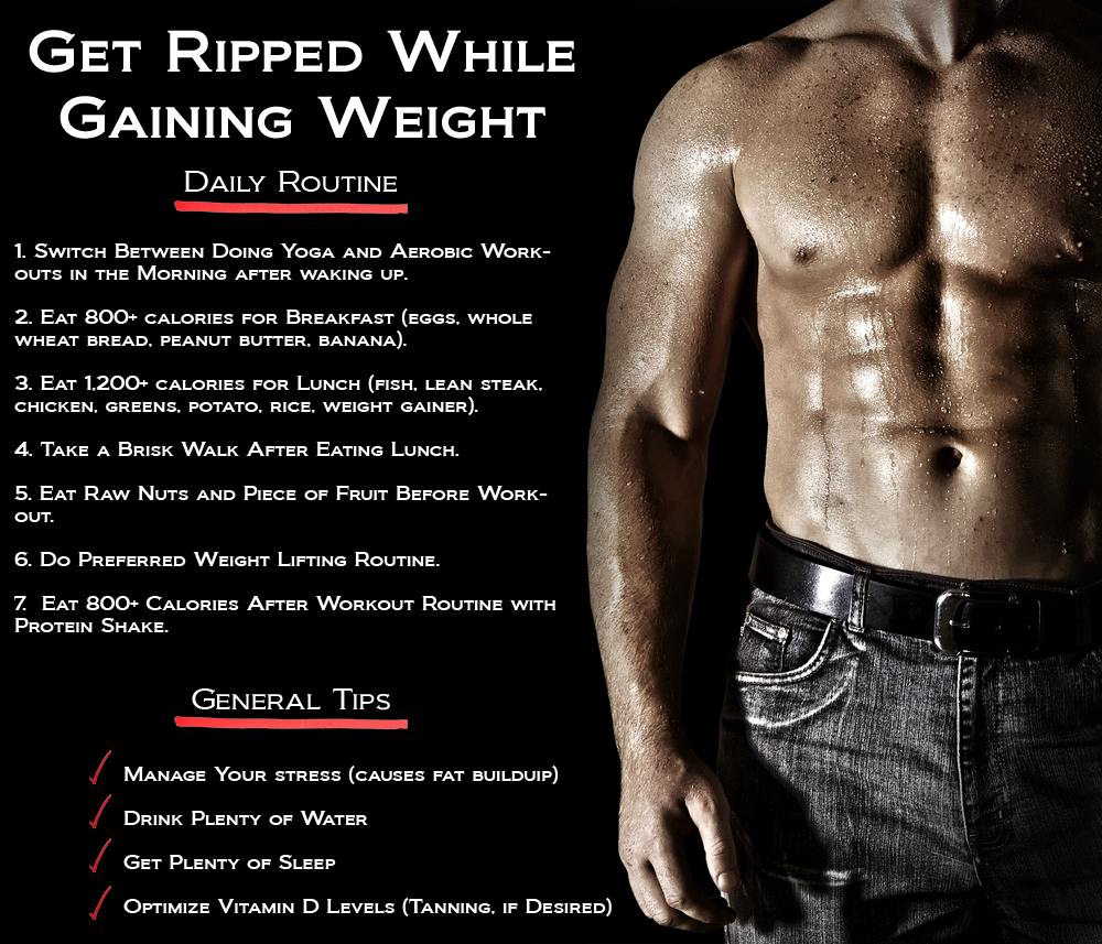 How to get ripped workout routine