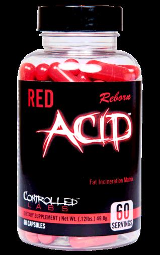 Red Acid fat burner supplement